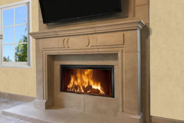 Venetian Stone fireplaces style Provance 4