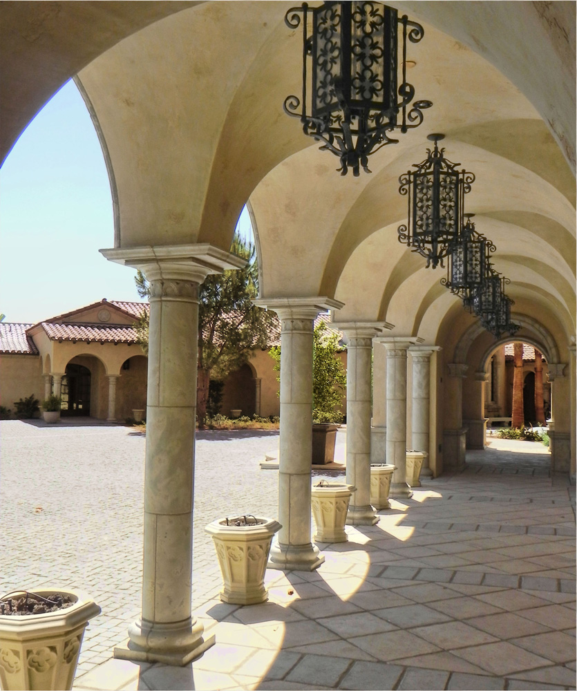 Columns Venetian Architectural Stone