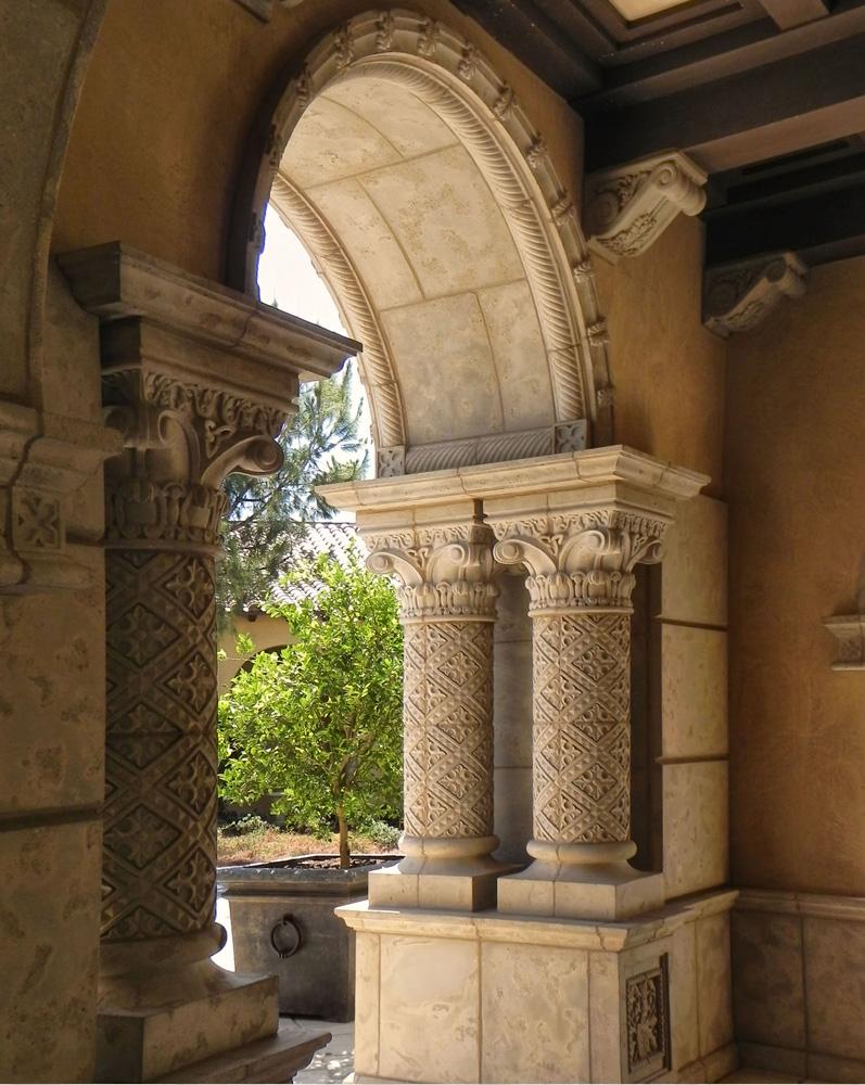 Custom Arch Venetian Architectural Stone