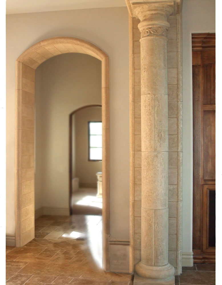 Venetian Architectural Stone Interior Columns