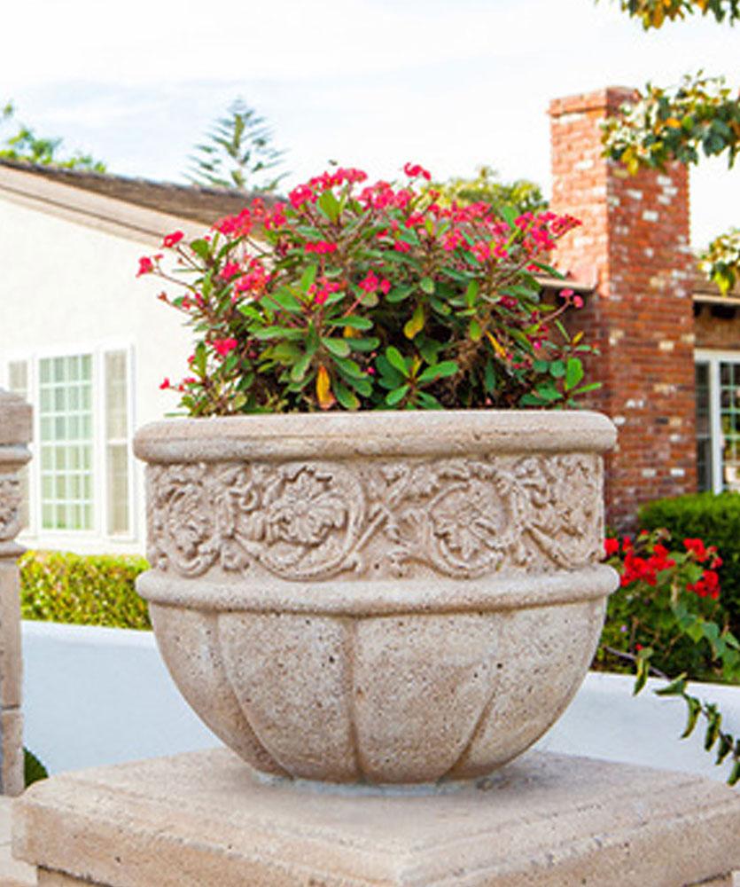 Mariotti Flower Planter Venetian Architectural Stone