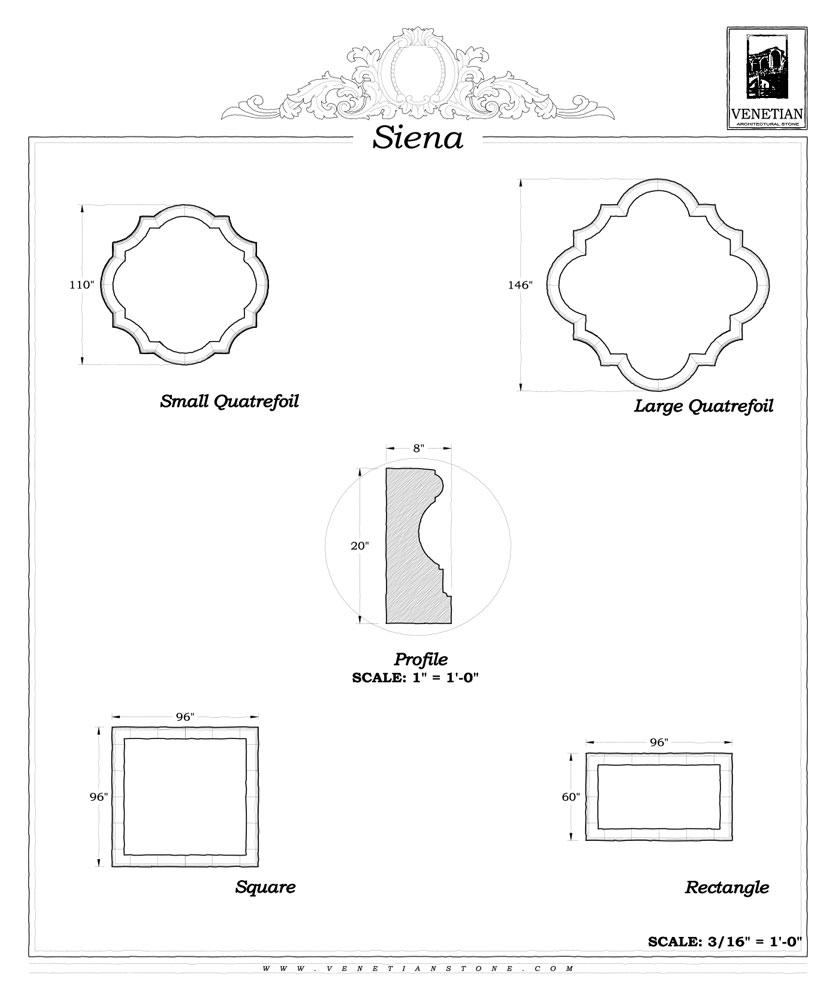 Siena Pool Venetian Architectural Stone